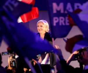 After French vote, European leaders come out against Le Pen. But what if she wins?