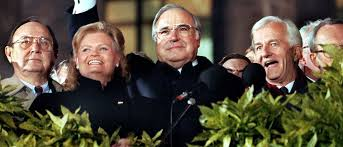 Helmut Kohl Reunion of Germany