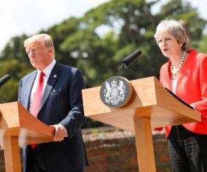 Trump poltert in England weiter
